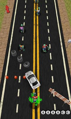 Screenshots of the Zombies! Hit and Run! for Android tablet, phone.
