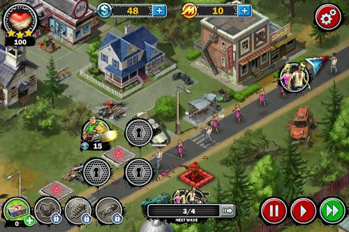 Zombies: Line of defense. War of zombies screenshot 4
