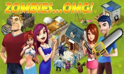 Zombies...OMG poster
