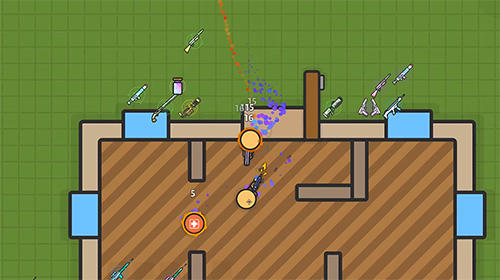Zombs royale.io: 2D battle royale screenshot 2
