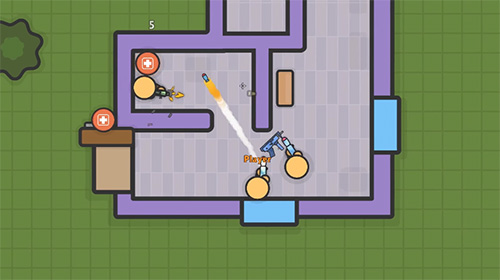 Zombs royale.io: 2D battle royale screenshot 3