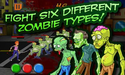 Screenshots do ZomNomNom - Perigoso para tablet e celular Android.