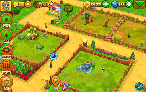 Screenshots do Zoo 2: Animal park - Perigoso para tablet e celular Android.
