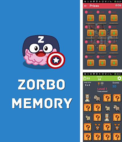 In addition to the game Lavi The Memory for Android phones and tablets, you can also download Zorbo memory: Brain training for free.