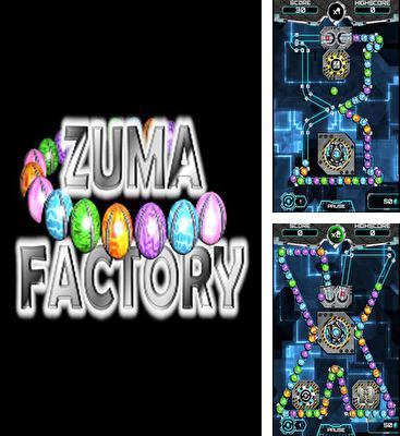 In addition to the game Zuma revenge for Android phones and tablets, you can also download Zuma Factory for free.