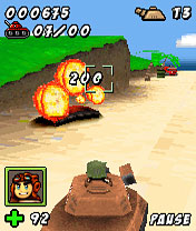 Download free mobile game: Tank raid 3D - download free games for mobile phone.