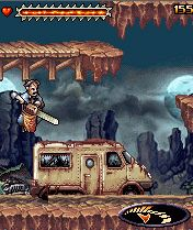 Mobile game Texas Chainsaw massacre - screenshots. Gameplay Texas Chainsaw massacre.