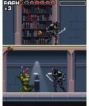 Jogo para celular Teenage Mutant Ninja Turtles: Power of Four - capturas de tela. Jogabilidade Adolescentes Mutantes Ninja Tartarugas: O Poder de Quatro.
