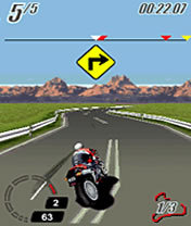 Mobile game Ducati: Extreme - screenshots. Gameplay Ducati: Extreme.
