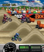 Download free mobile game: Bookoo Motocross - download free games for mobile phone.