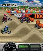 Download free game for mobile phone: Bookoo Motocross - download mobile games for free.