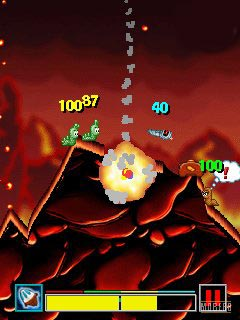 Download free mobile game: Worms 2008 - download free games for mobile phone.