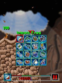 Download free game for mobile phone: Worms 2008 - download mobile games for free.