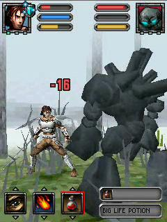 Download free mobile game: Blades and Magic 3D - download free games for mobile phone.