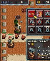 Mobile game Tower Wars: Time Guardian - screenshots. Gameplay Tower Wars: Time Guardian.