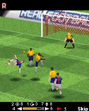 Download free mobile game: Real Football 2008 3D + 2D - download free games for mobile phone.