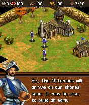 Download free mobile game: Age of Empires III Mobile - download free games for mobile phone.