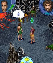 Mobile game The Sims 2: Castaway Mobile - screenshots. Gameplay The Sims 2: Castaway Mobile.