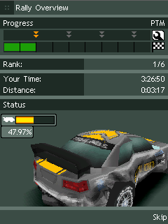 Mobile game Rally master pro - screenshots. Gameplay Rally master pro.
