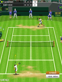 Download free mobile game: Wimbledon 2008 - download free games for mobile phone.