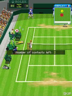 Download free game for mobile phone: Wimbledon 2008 - download mobile games for free.