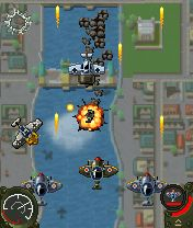 Скриншот java игры Aces Of The Luftwaffe. Игровой процесс.