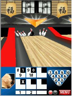 Mobile game Professional Bowlers Association Bowling - screenshots. Gameplay Professional Bowlers Association Bowling.