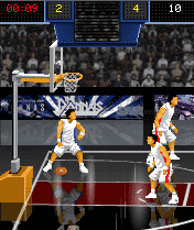 Mobile game Showtime Basketball - screenshots. Gameplay Showtime Basketball.