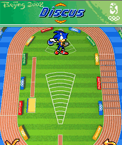 Download free game for mobile phone: Sonic At The Olympic Games 2008 - download mobile games for free.