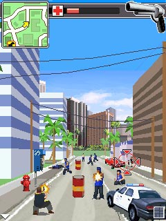 Download free mobile game: Driver L.A.Undercover - download free games for mobile phone.