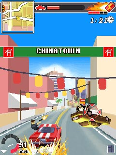 Download free game for mobile phone: Driver L.A.Undercover - download mobile games for free.