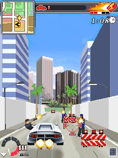 Jeu mobile Le Chauffeur Los Angeles - captures d'écran. Gameplay Driver L.A.Undercover.