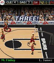Mobile game NBA Live 2008 - screenshots. Gameplay NBA Live 2008.