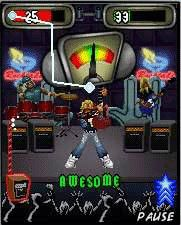 Guitar hero world tour: backstage pass java game for mobile.