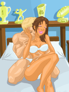 Jeu mobile La Mauvaise Fille: Le Sex en-ligne - captures d'écran. Gameplay Bad Girl: Sех on-line.