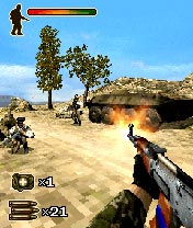 Download free game for mobile phone: Heroes of War: Sandstorm 3D - download mobile games for free.