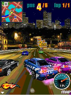 Download free game for mobile phone: Nitro Street Racing - download mobile games for free.