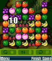 Mobile game Happy Fruits - screenshots. Gameplay Happy Fruits.