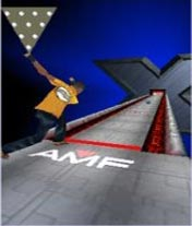 Скриншот java игры AMF Xtreme bowling 3D. Игровой процесс.