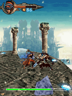 Mobile game Prince of Persia 2008 - screenshots. Gameplay Prince of Persia 2008.