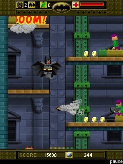 Download free mobile game: Lego Batman. The Mobile Game - download free games for mobile phone.