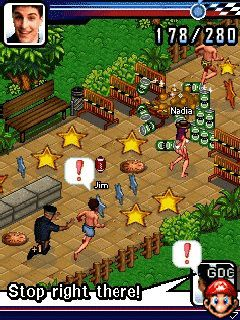 Download free mobile game: American Pie: Naked Run - download free games for mobile phone.