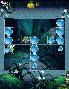 Mobile game Tinker Bell Puzzle - screenshots. Gameplay Tinker Bell Puzzle.