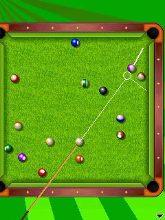 Jeu mobile La Soirée de Billard 2 en 1 - captures d'écran. Gameplay Party pool 2 in 1.