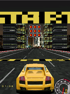 Download free game for mobile phone: Street Racing Mobile 3D - download mobile games for free.