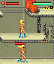 Jeu mobile Les Combats de Pitchounes - captures d'écran. Gameplay Tits fighting.