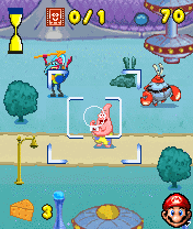 Download free game for mobile phone: Sponge Bob Paparazzi Parade - download mobile games for free.
