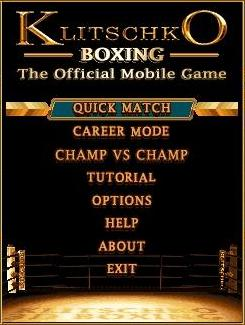 Download free mobile game: Klitschko Boxing - download free games for mobile phone.