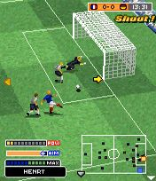 Jeu mobile Le Vrai Football 2006 3D - captures d'écran. Gameplay Real Football 2006 3D.