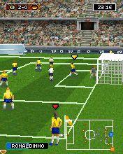 Real football 2009 3d symbian game. Real football 2009 3d sis.